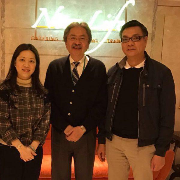 曾俊華先生到訪及午餐