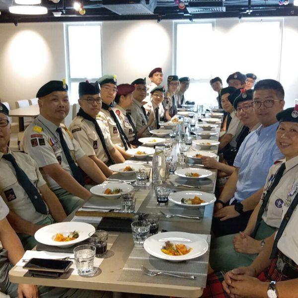 童軍會議及聚餐